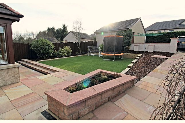 Rear Garden of Cairn Seat, Inverurie AB51