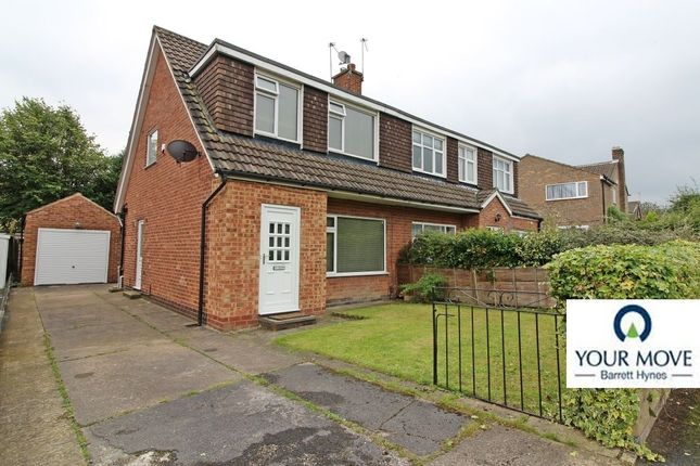 Thumbnail Semi-detached house for sale in Highwood Avenue, Moortown, Leeds