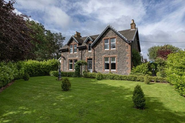 Thumbnail Detached house for sale in Edgemore, 1 Leadhills Road, Elvanfoot