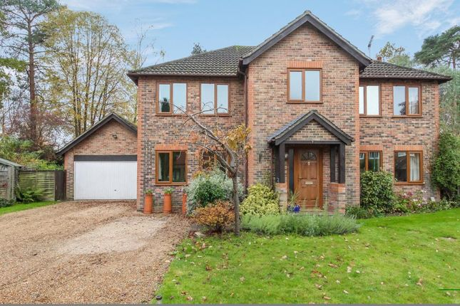 Thumbnail Detached house for sale in Church Crookham, Fleet