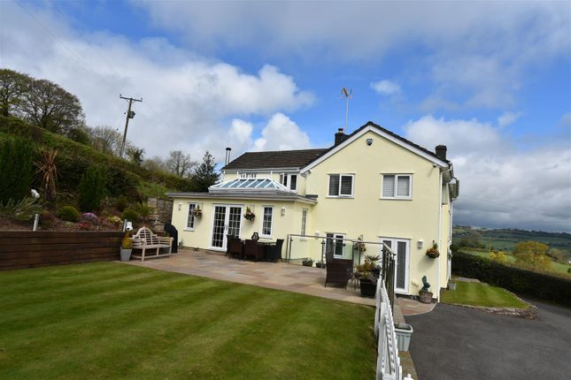 Thumbnail Detached house for sale in Usk Road, Shirenewton, Chepstow