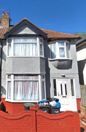 Thumbnail Semi-detached house to rent in Kingsmead Avenue, London