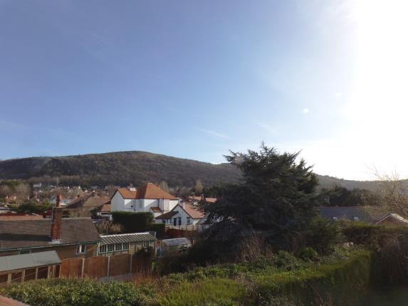 Rear Views of Princes Ave, Prestatyn, Denbighsire, . LL19
