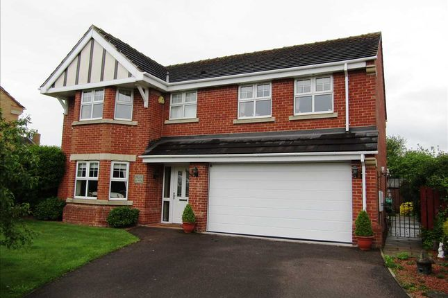 Thumbnail Detached house for sale in Kings Croft, Ealand, Crowle, Scunthorpe