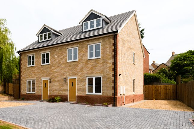 Thumbnail Semi-detached house for sale in High Street, Bozeat, Wellingborough