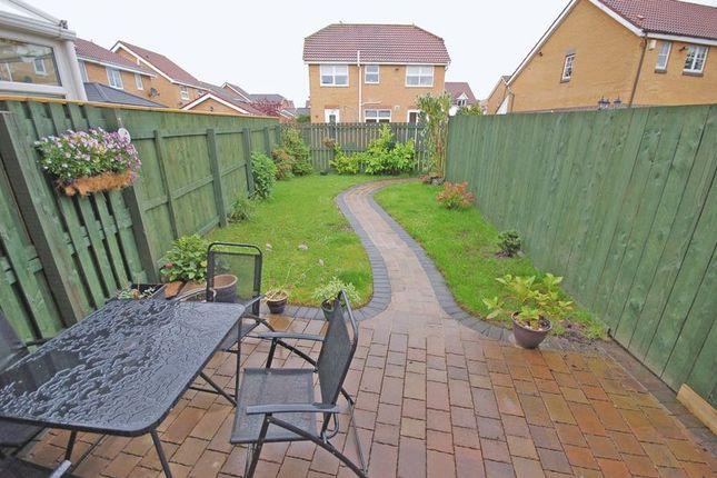 Rear Garden of Stagshaw, Killingworth, Newcastle Upon Tyne NE12
