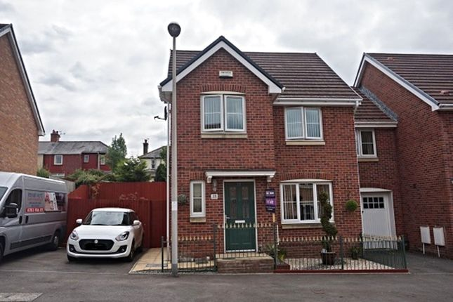 Thumbnail Link-detached house for sale in Hanbury Grove, Pontypool