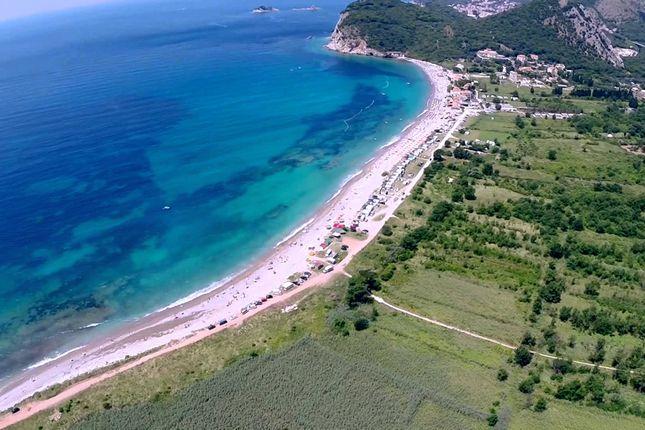 Thumbnail Land for sale in P-00208 / Unique And Exceptional Land Located In Buljarica Bay, Buljarica / Petrovac, Budva, Montenegro