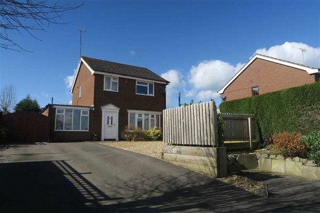 Thumbnail Detached house for sale in Chapel Lane, Kingsley Holt, Stoke-On-Trent