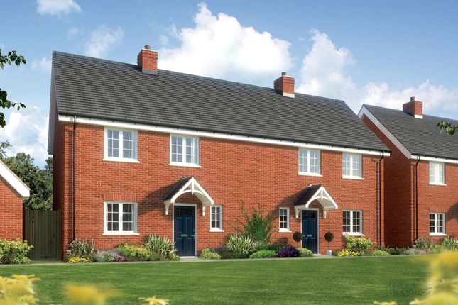 Thumbnail Semi-detached house for sale in The Hedingham, Berryfields, Chapel Road, Tiptree, Colchester, Essex