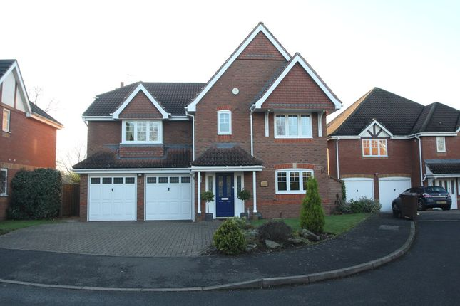 Thumbnail Detached house to rent in Wellfield Close, Balsall Common, Coventry