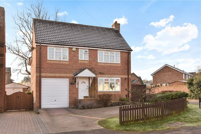 Thumbnail Detached house for sale in Hawthorne Crescent, Blackwater, Camberley