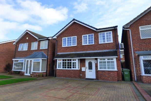 Thumbnail Detached house to rent in Rowan Close, Kingsbury, Tamworth