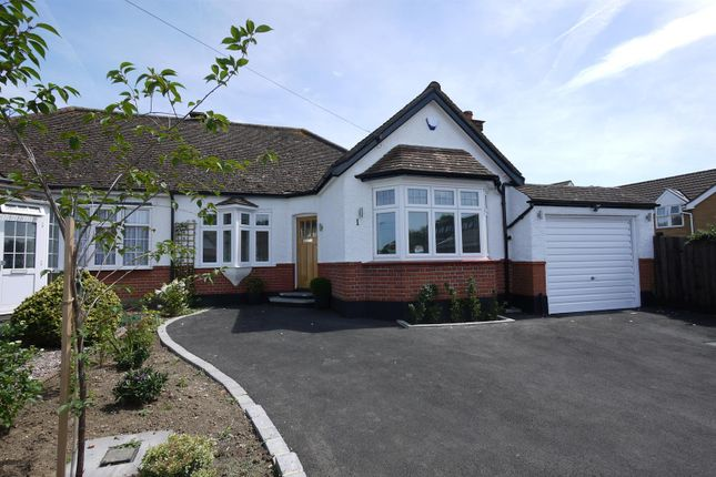 Thumbnail Semi-detached bungalow for sale in The Meadway, Cuffley, Potters Bar