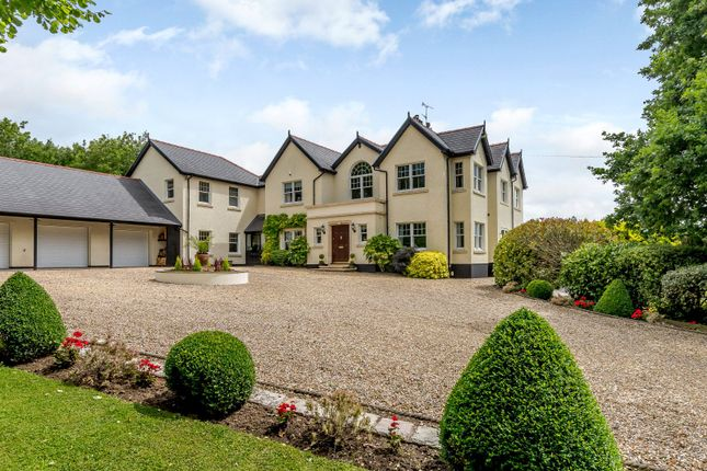 Thumbnail Detached house for sale in Pen-Y-Turnpike Road, Dinas Powys, Vale Of Glamorgan
