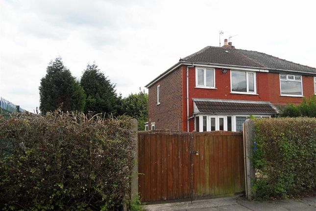 Thumbnail Semi-detached house for sale in Ramsgate Road, Reddish, Stockport