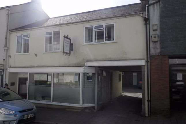 Thumbnail Office for sale in 70-70A, Fore Street, Bodmin, Cornwall