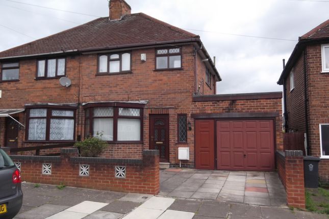 Thumbnail Semi-detached house to rent in Downham Avenue, Leicester