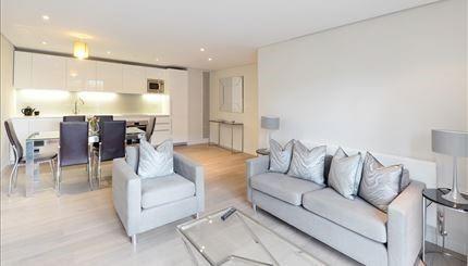 Thumbnail Flat to rent in East Harbet Road, Paddington