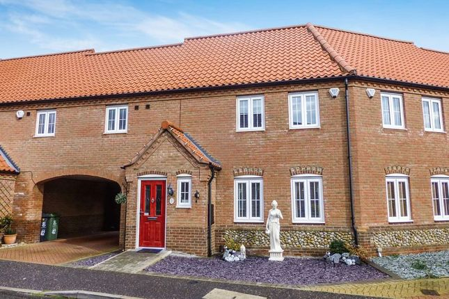 Thumbnail Terraced house for sale in Stable Field Way, Hemsby, Great Yarmouth