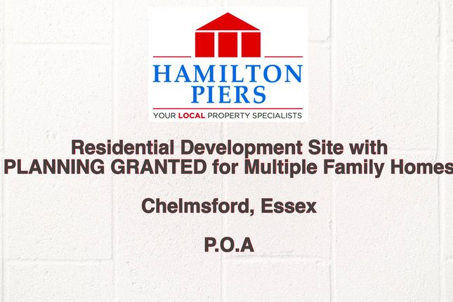 Thumbnail Land for sale in Residential Development Site, Chelmsford