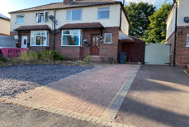 Thumbnail Semi-detached house to rent in Greatfield Road, Kidderminster