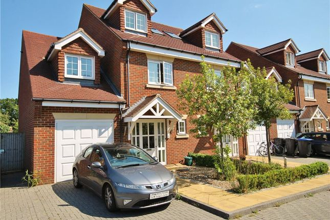 Thumbnail Semi-detached house for sale in Mayhurst Mews, Mayhurst Avenue, Woking, Surrey