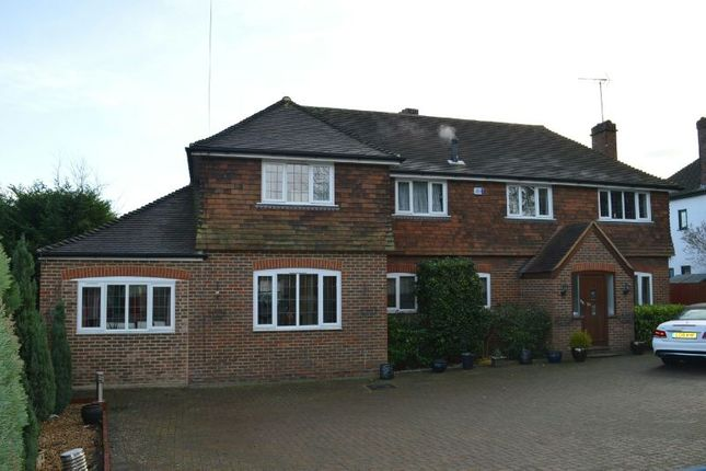 Thumbnail Detached house for sale in Epsom Road, Ewell, Epsom