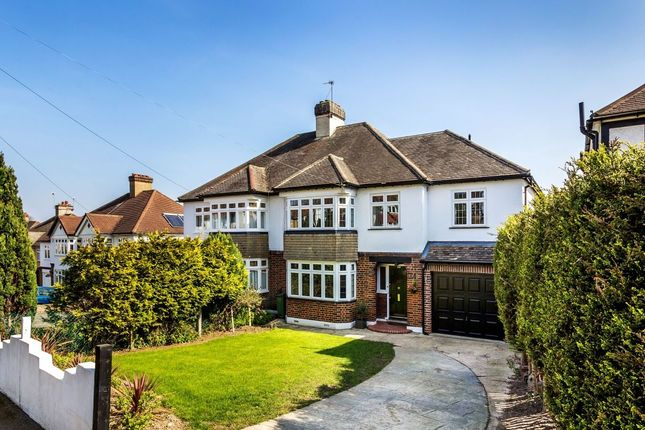 Thumbnail Semi-detached house for sale in Banstead Road, Carshalton