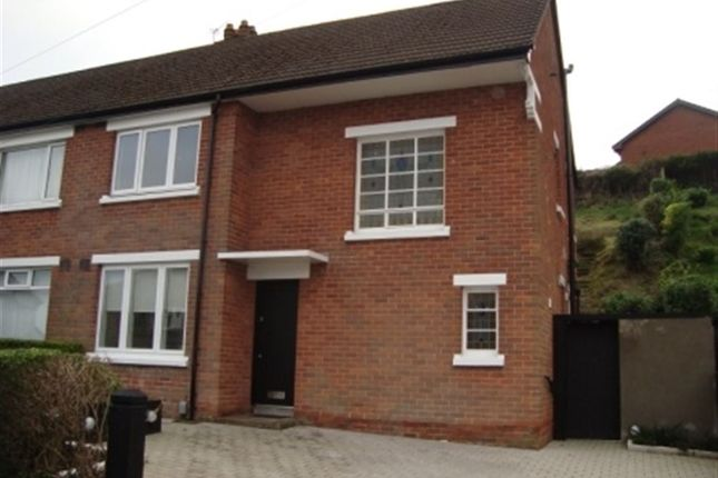 Thumbnail Semi-detached house to rent in Galwally Park, Belfast