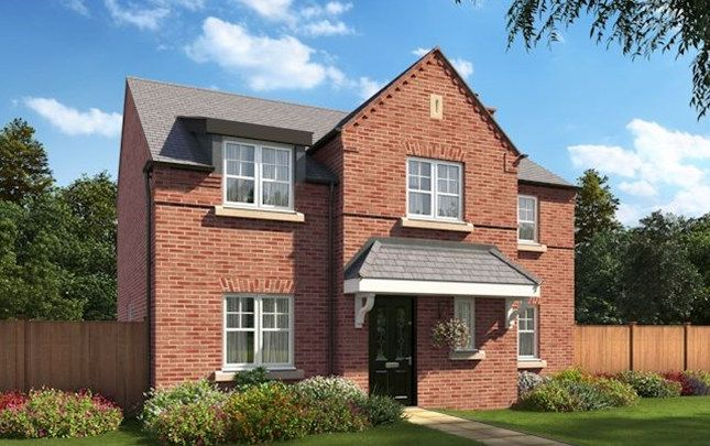 Thumbnail Detached house for sale in The Staunton, Trinity Gardens, Ling Road, Loughborough