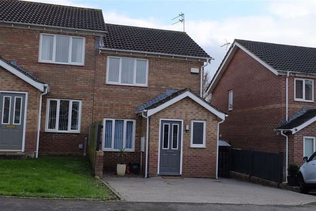 2 bed semi-detached house to rent in Heol Corswigen, Barry, Vale Of Glamorgan CF63