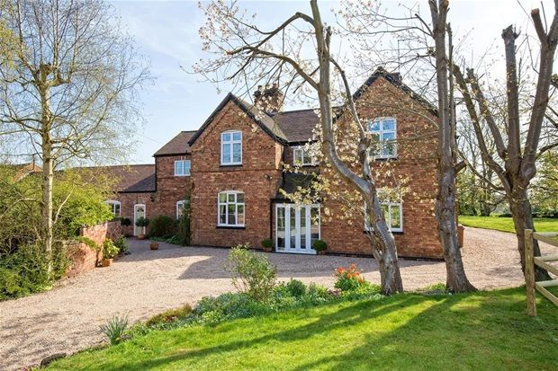 Thumbnail Farmhouse for sale in Main Street, Orton-On-The-Hill, Atherstone