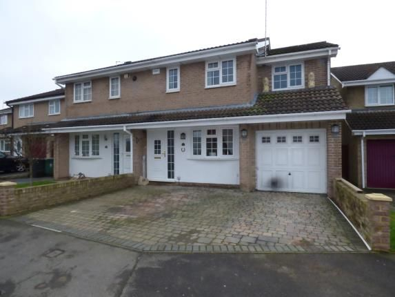 Thumbnail Semi-detached house for sale in Roman Road, Abbeymead, Gloucester, Gloucestershire