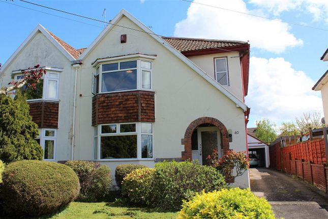 Thumbnail Semi-detached house for sale in Bridgwater Road, Taunton, Somerset