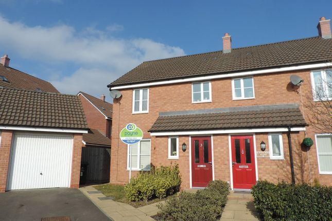 3 bed end terrace house to rent in Fusiliers Close, Stoke Village, Coventry