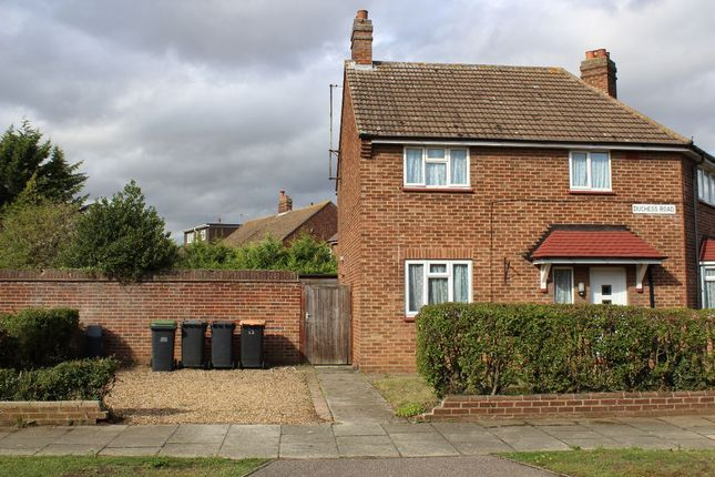 Thumbnail Semi-detached house to rent in Duchess Road, Shortstown, Bedford