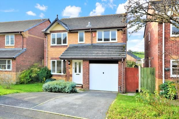 Thumbnail Detached house for sale in Ashburgh Parc, Latchbrook, Saltash, Cornwall