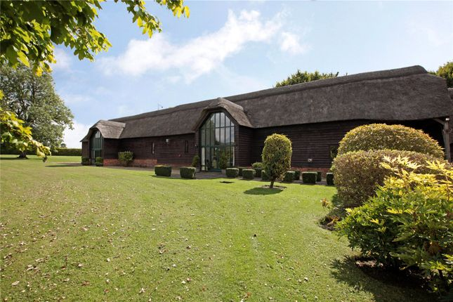 Thumbnail Barn conversion for sale in Stanton St. Bernard, Marlborough, Wiltshire