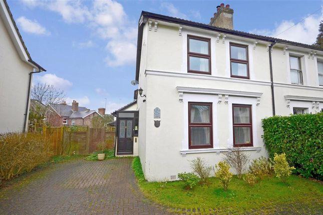 Thumbnail Semi-detached house for sale in Springfield Road, Groombridge, Tunbridge Wells, Kent