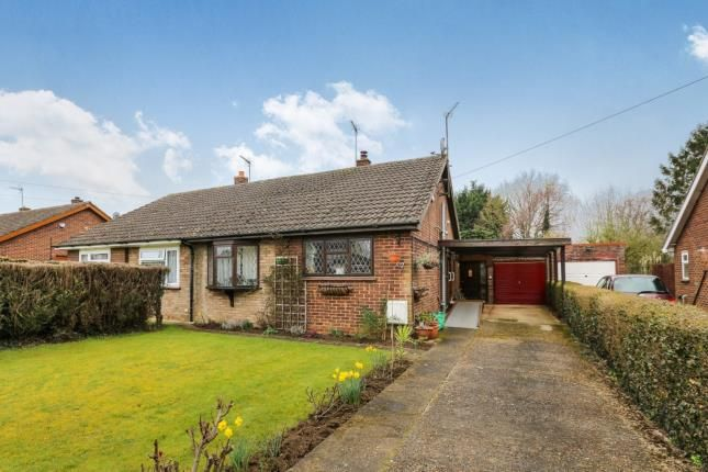 Thumbnail Semi-detached house for sale in Mill Lane, Greenfield, Beds, Bedfordshire