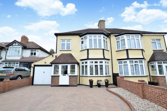 Thumbnail Semi-detached house for sale in Redford Avenue, Wallington