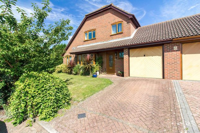 Thumbnail Detached house for sale in Pike Close, Folkestone