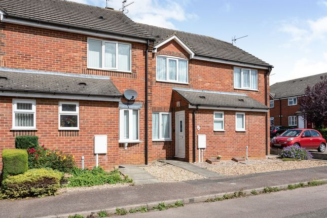 Thumbnail End terrace house for sale in Kings Court, Desborough, Kettering