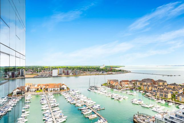 Thumbnail Flat for sale in The Moresby Tower, Ocean Way, Southampton