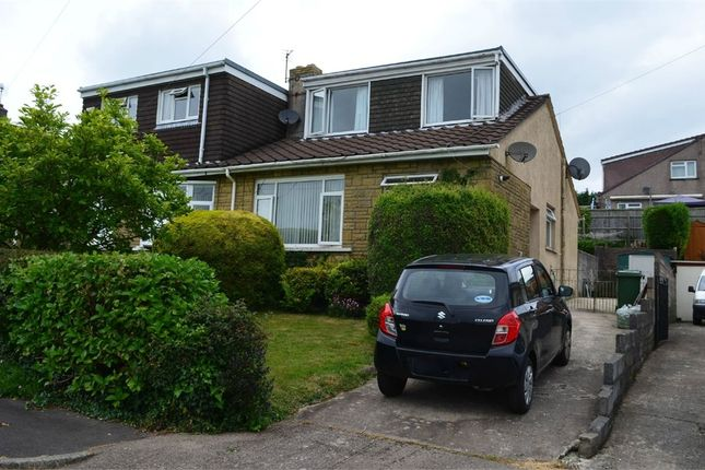 Thumbnail Semi-detached bungalow for sale in Hillcrest, Brynna, Pontyclun, Mid Glamorgan