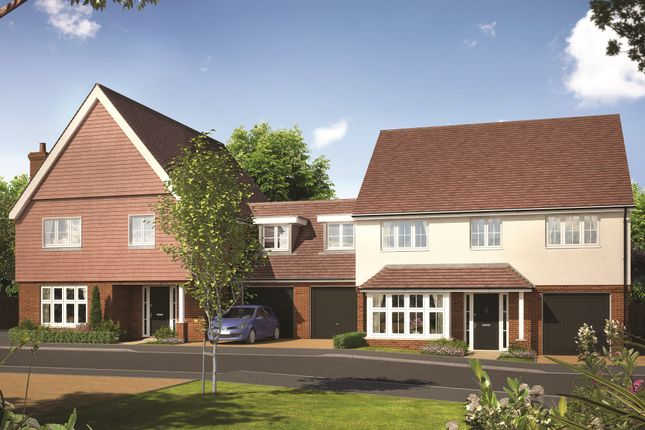 Thumbnail Link-detached house for sale in Sycamore Gardens, Epsom