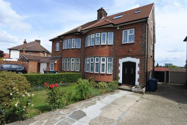 Thumbnail Semi-detached house to rent in Cissbury Ring South, London