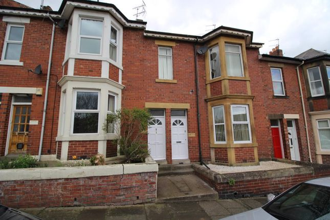Thumbnail Flat to rent in Audley Road, South Gosforth, Newcastle Upon Tyne