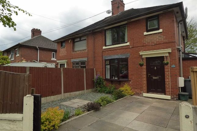 Thumbnail Semi-detached house for sale in Linden Place, Blurton, Stoke-On-Trent